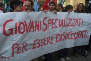 Laureati italiani disoccupati