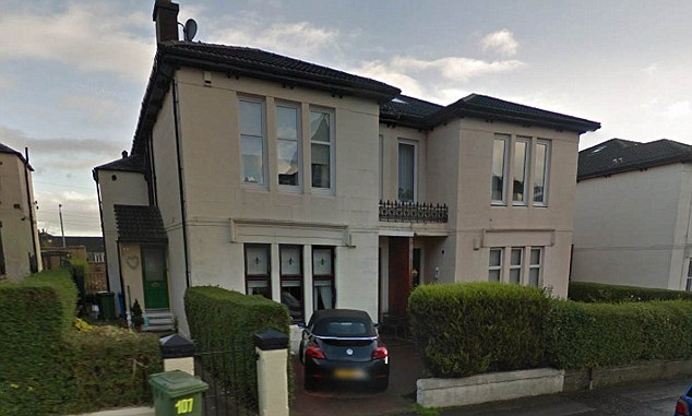 alledge poltergeist in Stonelaw Road in Rutherglen glasgowgoogle street view