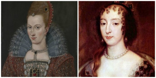 Anne and Denmark and Henrietta Maria
